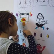 ABC-Plakat-Kind